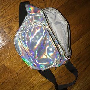 Handbags - Holographic Fannypack